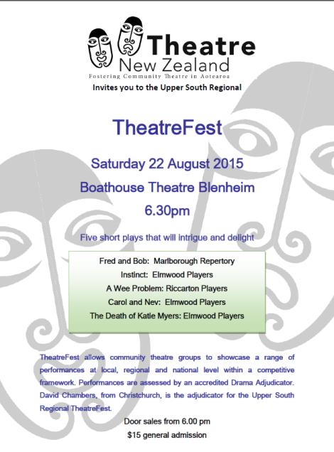 Theaterfest Poster